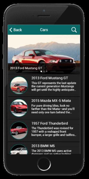 Cars 4U Listing